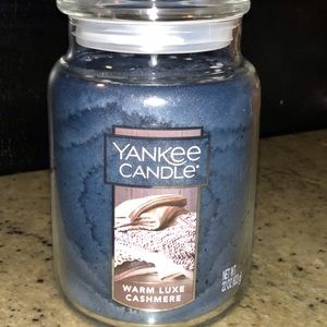 NEW Yankee Candle- Warm Luxe Cashmere
